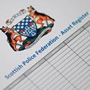 Asset Register for Scottish Police