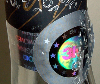 Brand protection Hologram Label