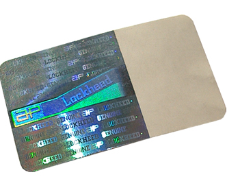 Brand Protection Holographic Label