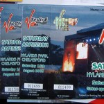 Music Festival Tickets with Hologram
